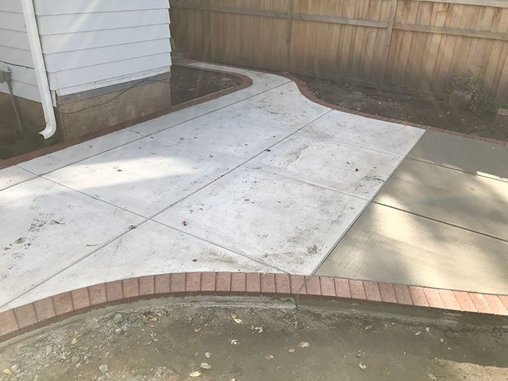 Concrete and brick walkway harold j pietig sons inc for Cleaning concrete paths